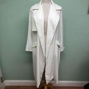 Pia Rossini Carolina Coat: White (PM1834)